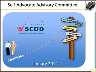 Self Advocates Advisory Meetig January 2012