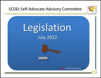Legislation Packet July 2012